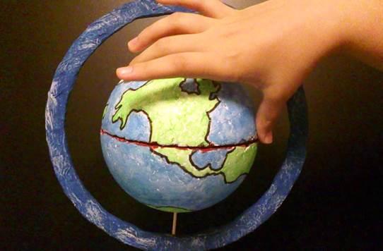 Cómo hacer un mapamundi en una pelota